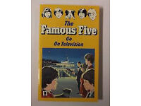 The Famous Five Go On Television - By Enid Blyton (Paperback Book) No 4 Childrens Vintage Mystery