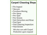 professional carpet cleaning two rooms £29.99 fixed price