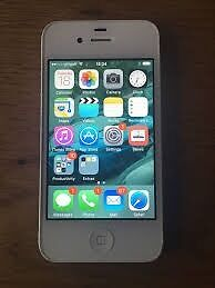 Apple iPhone 4s 16GB White Factory Unlocked Smartphone