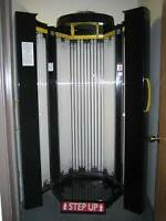 Tanning Booth Equipment - Sundazzler 46 - 11 minute Stand Up