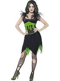 FRANKENSTEIN MONSTER BRIDE FANCY DRESS OUTFIT SIZE 16/18 GREAT FOR A HALLOWEEN