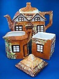 Cottage ware teapot set