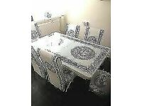 🌐TURKISH EXTENDABLE DINING TABLES & 4/6 CHAIRS 🔆🔆
