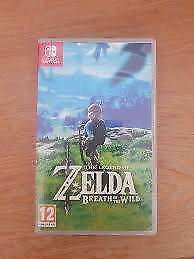 Zelda Breath of Wilds NINTENDO switch