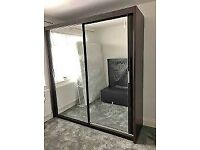 🍁🍁CLEARANCE STOCK MUST GO🍁🍁BRAND NEW CHICAGO SLIDING MIRROR WARDROBE🍁🍁AVAILABLE NOW🍁🍁