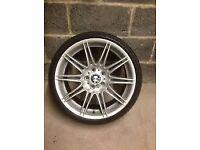 Wanted 19'' bmw Genuine MV4 rear rim No welds please