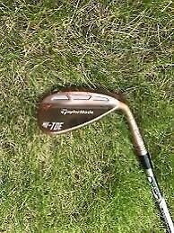 Taylormade high toe 2018 wedge