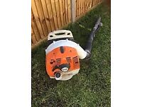 STIHL BR350 PETROL LEAF BLOWER - EXCELLENT CONDITION - STARTS 1ST 2ND PULL - JUST £190