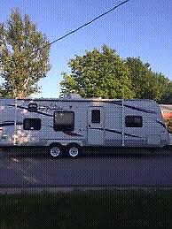 2011 jayco 26bh travel trailer. Great shape.