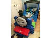 Little Tikes Thomas Tank Toddler Bed with Mattress (cost 300£ new)