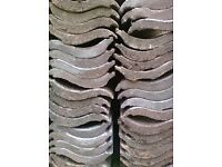 roofing tiles for sale over 115 in total would suit for shed used 7