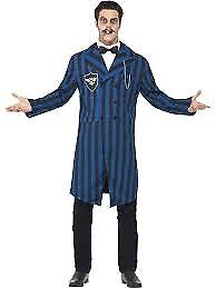GOMEZ ADDAMS FAMILY DUKE OF THE MANOR OUTFIT INCLUDES JACKET SHIRT FRONT AND BOW TIE SIZE L