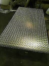 Chequered plate sheets
