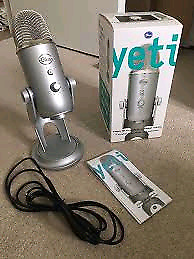 Blue Yeti Microphone - MINT Condition