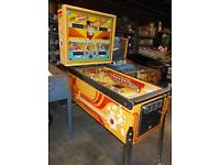 Bally Strikes and Spares Pinball Machine
