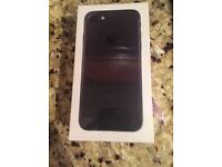 sealed Iphone 7 matte black