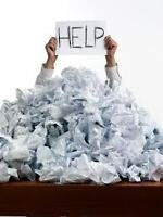 Is Your Paperwork Driving You Crazy?
