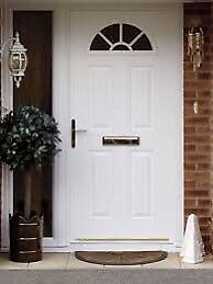 Brand new white composite door £300!