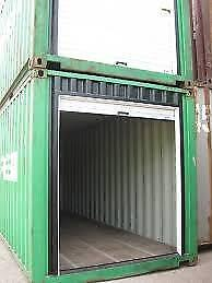 New White 7 x 7 Ocean Container Roll-up Doors
