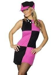 60s MOD FANCY DRESS OUTFIT SIZE 8/10 GREAT FOR PARTY OR HEN DO