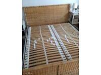 Ikea Super King Size Bedframe Sumnes 180x200