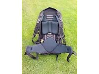 Rucksack, Jalan, Berghaus, Large 65+15 daypack zipped on for travelling or festivals !