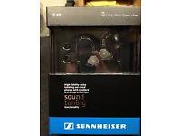 Sennheiser IE80 in-ear isolating earphones headphones