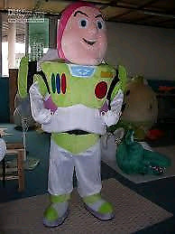 Buzz Lightyear Mascot Costume