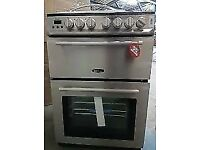 NEW RANGE MASTER (ARL60ACSSC) 60CM STAINLESS STEEL ELECTRIC COOKER, 6 MONTHS WARRANTY