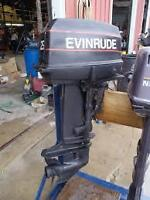 Wanted 20 - 40 hp Johnson / Evinrude or Merc