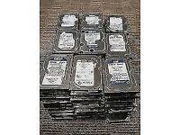 Bulk Hard Drives Any Size - 2TB, 1.5TB, 1TB, 750GB, 500GB, 250GB, 160GB