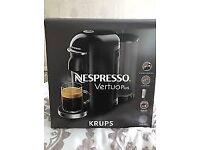 Nespresso Krups Vertuoplus coffee machine NEW