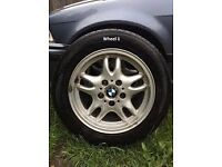 BMW GENUINE M-TEC/M-SPORT E36 ALLOY WHEEL (no Tyre) BARGAIN ONLY £15
