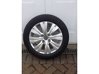 Picasso ALLOY SPARE wheel and tyre complete