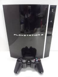 sony playstation 3 ps3 games console with games blu ray player