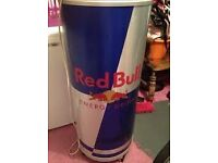 Rounf Red bull Fridge,can cooler,low energy cost for shop/home/shed Brand New
