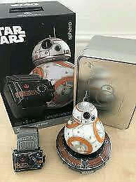 STAR WARS BB8 SPHERO DROID, SPECIAL EDITION. WITH FORCE BAND AND METAL CASE.