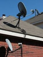 Dish and Cable Removal