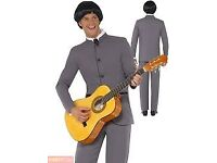 60s BEATLES / MOD FANCY DRESS OUTFIT SIZE M GREAT FOR A PARTY OR STAG DO 3 FOR SALE ALSO 1 WIG