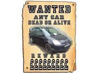Scrap vehicles wanted / Non-runners & MOT Failures (All areas around Birmingham)