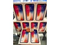 **MEGA OFFER** APPLE IPHONE X 256GB UNLOCKED COMES WITH WARRANTY & RECEIPT