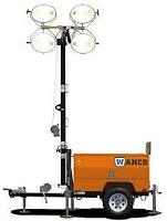 NEW WANCO 8KW LIGHT TOWERS