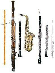 flute,clarinet,saxophone,oboe,bassoon repair