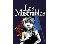 Les Miserables premium seats tickets