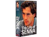 """Ayrton Senna – """"The Life Of"""" Hardback"""
