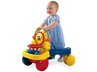 Fisher price Stride to ride walker and ride on