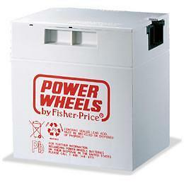 Fisher Price Power Wheels Battery