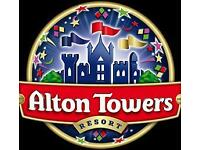 Alton Towers Tickets - Any Day till December - Only £15