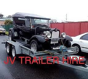 TRAILER HIRE BOX TRAILERS CAR TRAILERS Dapto Wollongong Area Preview