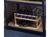Mining Rig Eth 176Hash 6 MSI RX580 8GB OC